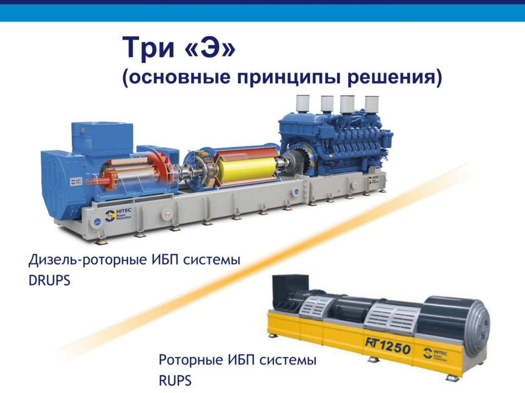 Дизельроторные ИБП системы для сайта КС-ГРУПП-04