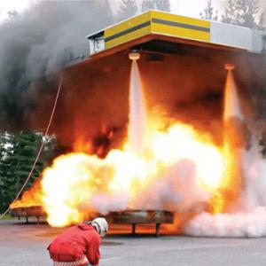 Монтаж автоматических установок газового пожаротушения