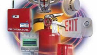 Противопожарная защита объектов хранения и использования изделий из резины