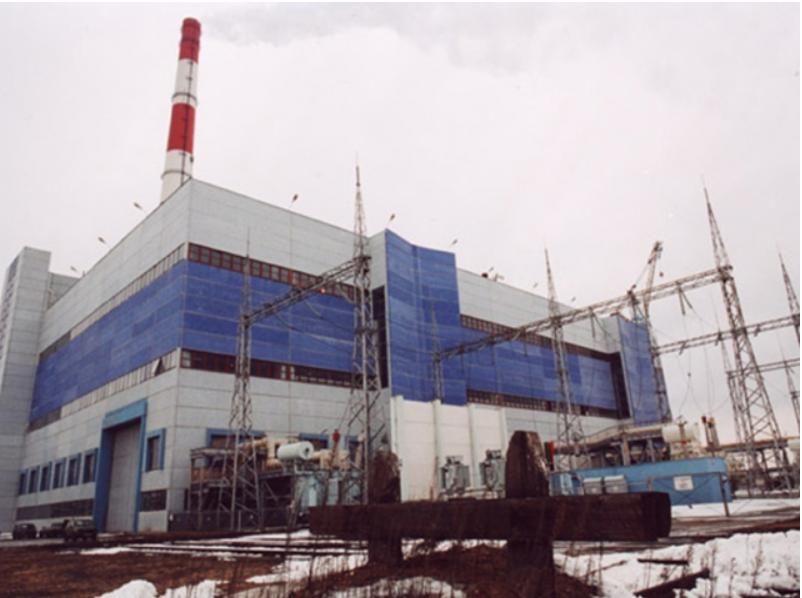 Главный корпус энергоблока №4 ПГУ 450 ТЭЦ №27