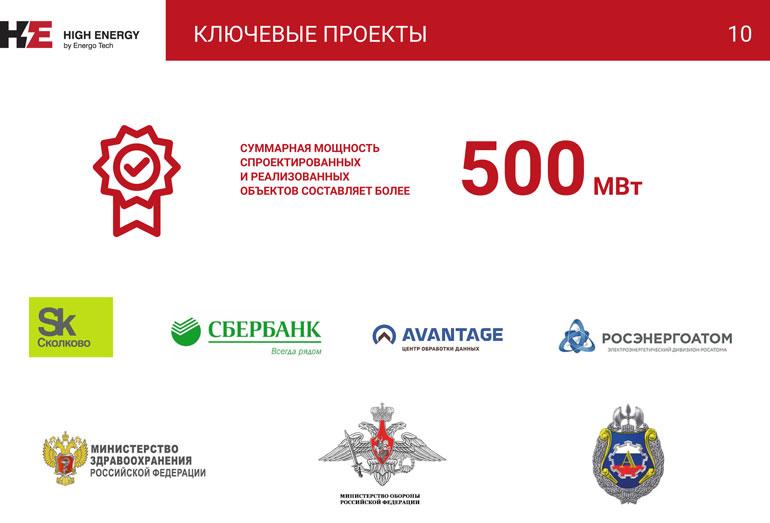 Презентация HIGH ENERGY КС-ГРУПП-10