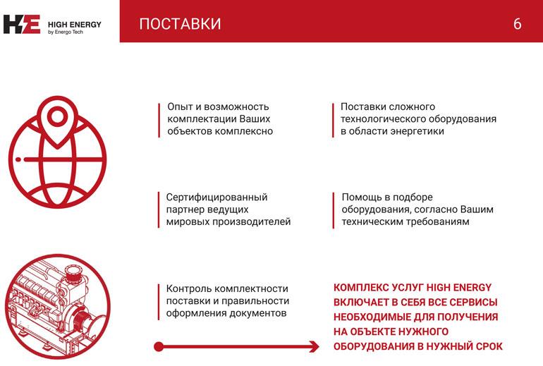 Презентация HIGH ENERGY КС-ГРУПП-6